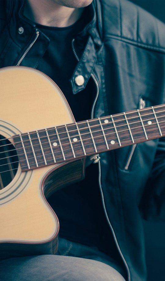 Guitar left